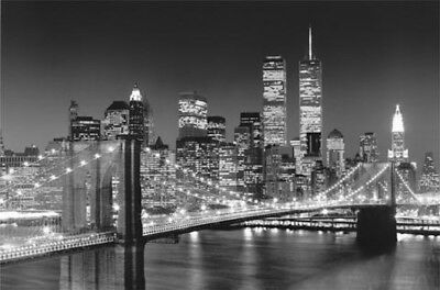 New York Brooklyn Bridge Usa Poster Tapete Xcm