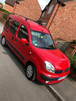 Renault kangoo automatic wheelchair disability vehicle 2007 53,000 miles