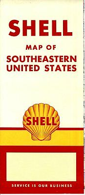 1957 AAA SOUTHEASTERN States Vintage Road Map - $12.00 | PicClick