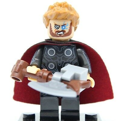 2019  Marvel Avengers 4 Infinity War Thor Fit Lego Building Toys Mini Figures