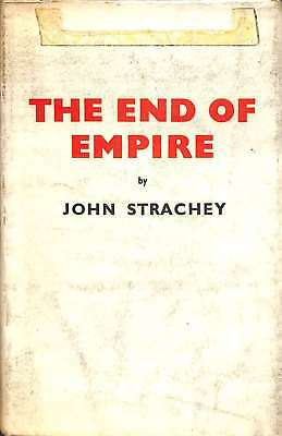 The end of empire, Strachey, John, Good Condition Book, ISBN