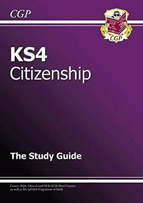 KS4 Citizenship Study Guide (Revision & Practice), Very Good Condition Book, CGP