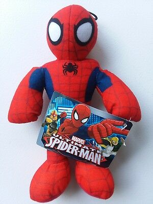 "NEW- MARVEL ULTIMATE SPIDER-MAN 8"" Plush Toy 2014 Stocking Stuffer"