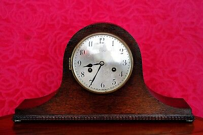 Vintage Art Deco German 'Junghans Wurttemberg' Mantel Clock with Chimes