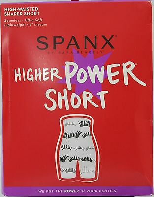 Spanx~Higher Power High Waisted Shaping Short~A266358~#2745~Not in Package