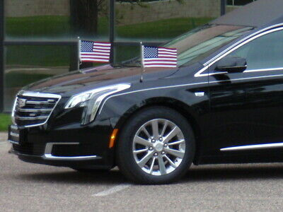 Flag Staffs Hardware 2013-2019 Cadillac XTS new HEARSE Funeral Coach Limo