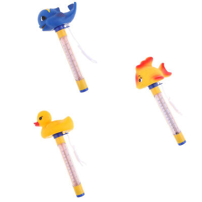3Pcs Floating Swimming Pool Hot Tub Thermometer Water Temperature Tester