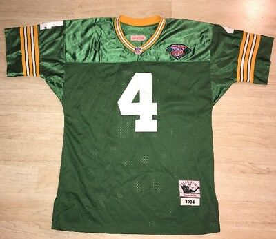 Vintage Mitchell   Ness Brett Favre Green Bay Packers Throwback Jersey 1994  Rare f8c0db1dc
