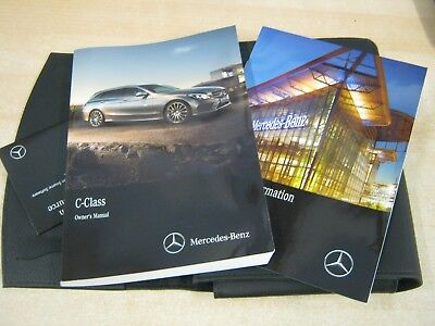 mercedes benz c class estate owners manual