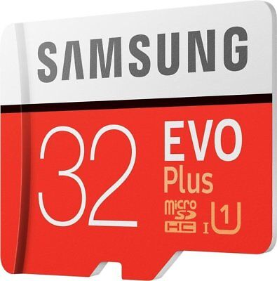 Samsung Memory Crad 32GB Evo Plus Class 10 Micro SD With Adapter