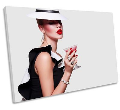 Fashion Female Model CockCANVAS WALL ART DECO LARGE READY TO HANG NIGHT all size