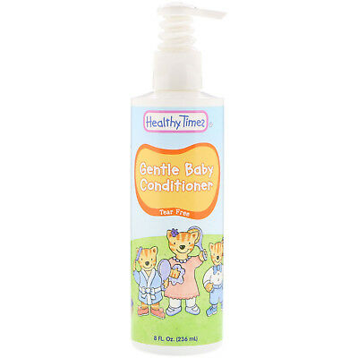 Healthy Times Gentle Baby Conditioner Tear Free 8 fl oz 236 ml Not Tested on