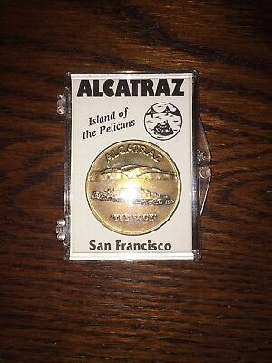 Alcatraz Souvenir Coin in Case