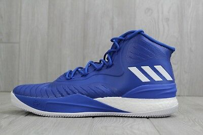 huge selection of ce7ff 506f1 32 New Adidas D Rose 8 Royal Blue Derrick Mens 13 Boost Basketball Shoes  CQ1621