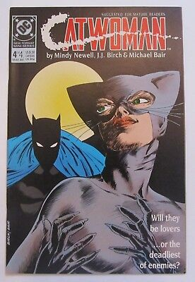 Catwoman #4 VF/NM 9.0 Vol. 1 DC Comics Limited Series 1989