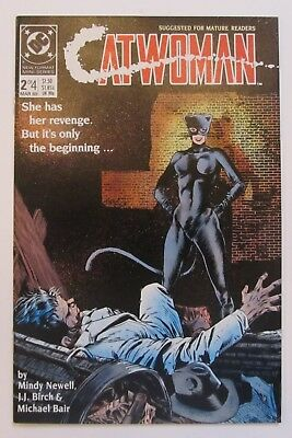 Catwoman #2 VF+ 8.5 Vol. 1 DC Comics Limited Series 1989