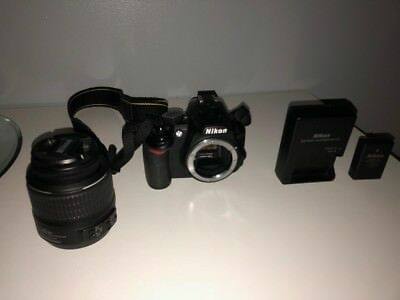 Nikon D D3100 14.2MP Digital SLR Camera - Black (Kit w/ AF-S DX VR 18-55mm Lens)
