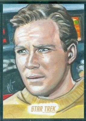 STOS Captain's Collection Sketch Card by Lightfoot