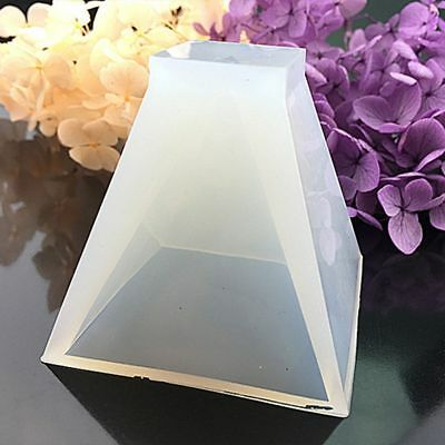 Oversized Ornaments Pyramid DIY Mould Resin Pendant Mold Craft Silicone Tool
