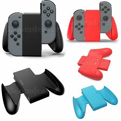 Rubber L+R Joy-Con Comfort Grip Game-play For Nintendo Switch NS JoyCon Holder