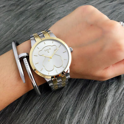 New Fashion Stainless steel Wristwatch hollow out Bear Watch