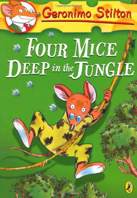 Geronimo Stilton: Four Mice Deep in the Jungle (#5), Very Good Condition Book, S