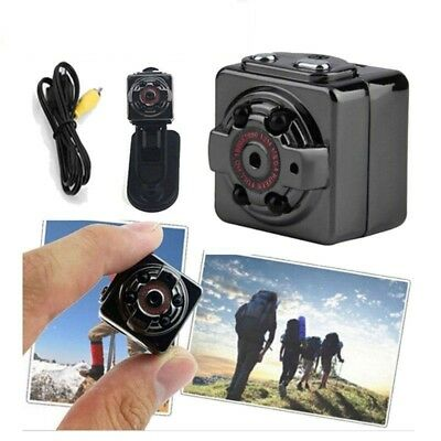 Full HD 1080P Mini Auto Versteckt SPY DVR Kamera Dash Cam IR Nacht Recorder SQ8