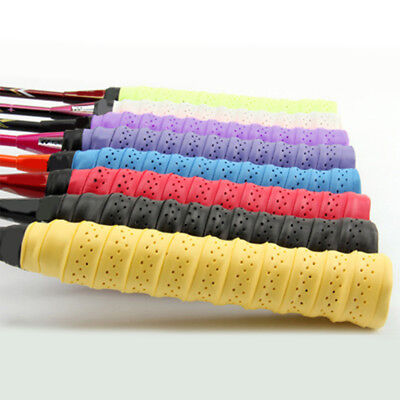 AU Anti-slip Thick Overgrip Breathable Keel Hand Sticky Tennis Racket Grip Tape