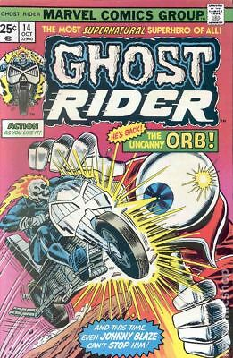 Ghost Rider (1st Series) #14 1975 VG Stock Image Low Grade