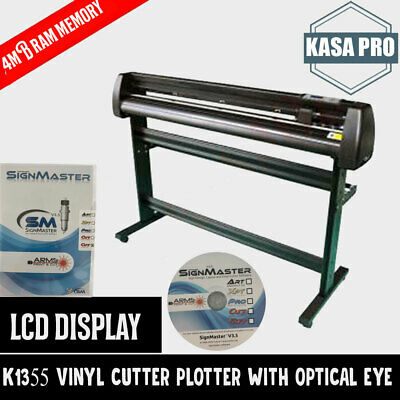 "Large 59"" Optical Eye Laser Pointer Vinyl Cutter Plotter Signal Cutting Seasoned"