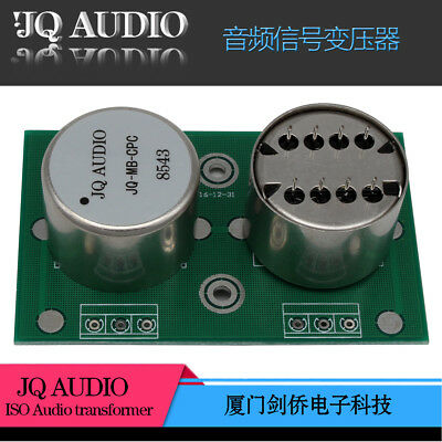 Audio MC step-up transformer for MC phono LP permalloy transformer 1+1:10+10