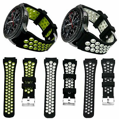 22mm Silicone Band Wrist Sports Strap Bracelet For Samsung Gear S3 Frontier New