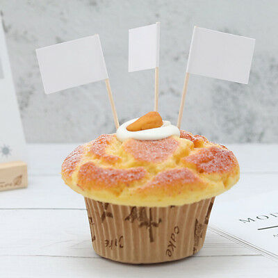 Countries Nations Flag Picks Paper Toothpick Food Cupcake Cocktail Decor 8C