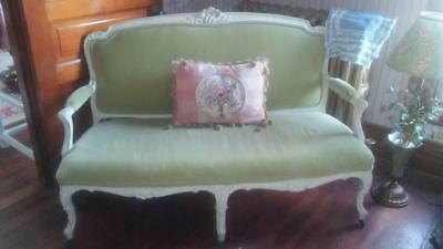 Antique Louis XVI French Provincial Settee Sofa