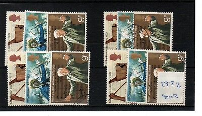 Gb  Wholesale - 1972 - (F402) - Anniversaries - Four Sets - Fine Used