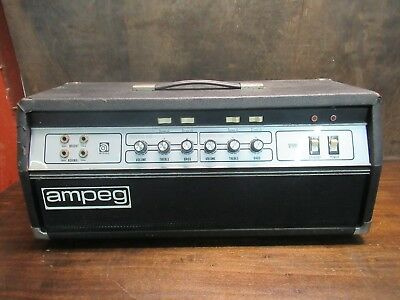 Vintage Ampeg Model: B-25B Bass Amp Head Fully Tested Unsure Of Exact Year