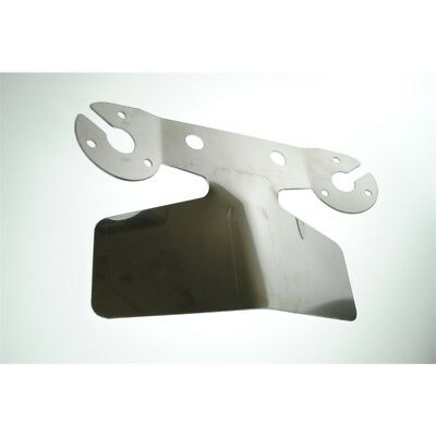Maypole 4435b Tow-tekta Bumper Protector Plate - Stainless Steel Towtekta Dp