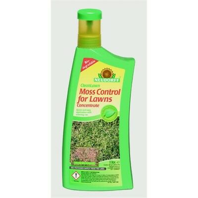 Neudorff Cleanlawn Organic Moss Control For Lawns, 1l Concentrate