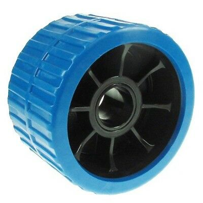 Ribbed Wobble Roller (non Mark) Blue 74x120x26.5 - x Mp1714 One Pair Boat