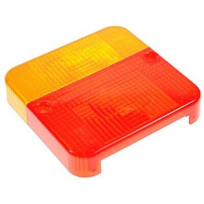 Lens - Red/amber (suits Mp003b) Dp - Maypole Lamp Spare Mp33b Rear Light Trailer
