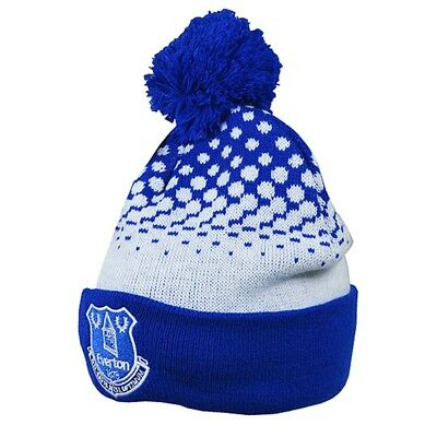 21b719b2c1015 Everton Fc Adult Cuff Bobble Ski Knitted Hat - Fd Official Football New