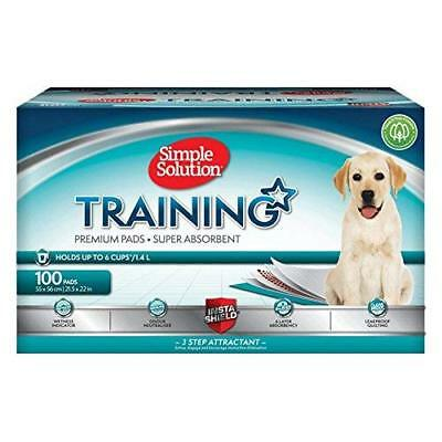 Dog + Puppy Training Pads 100 Pack House Training Toilet Durable Liner New