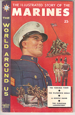 The World Around Us The Illustrated Story Of The Marines#11