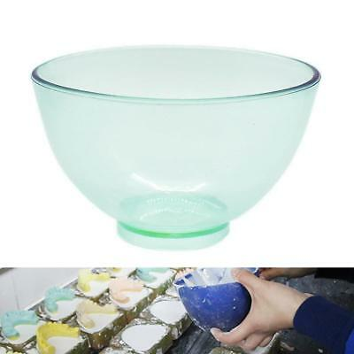 1 Pc Dental Lab Flexible Nonstick Rubber Impression Mixing Alginate Bowls Green
