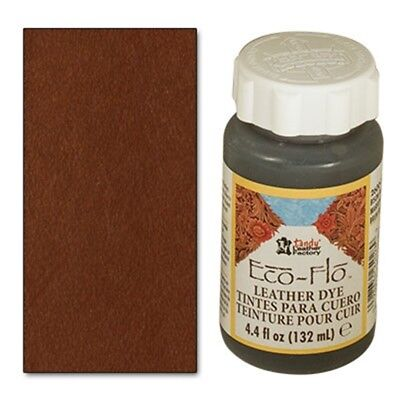 4oz Timber Brown Eco Leather Dye - 44 Fl Oz 132ml Ecoflo Multiple Colours Free