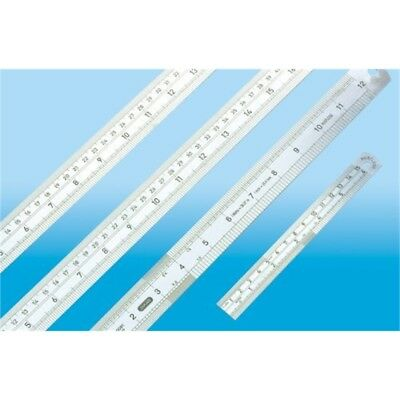 Jakar Precision Steel Rule 1 Meter/40 Inch - Ruler Quality Inches High German