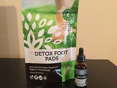Zeotrex - Chemical Toxic Metal Cleanser with foot pads- Global Healing Center