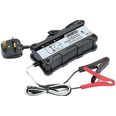 1a / 2a Battery Charge / Maint - 12v Draper 38253 Chargermaintainer