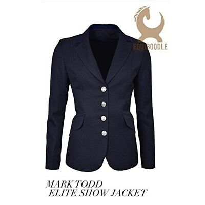 Mark Todd Elite Show Jacket - Navy 10 - All Sizes