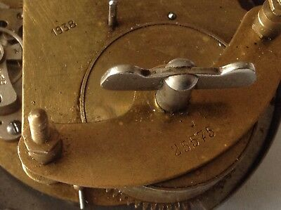 old drum clock  movement